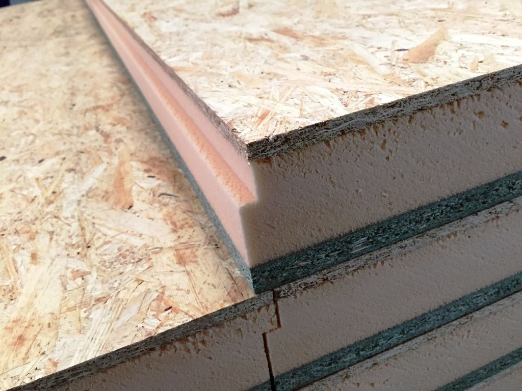 Panel sandwich osb madera para obra portugal lopezpanel for Tejados de madera precio m2