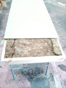 montaje cantabria panel sandwich lana de roca autoportante