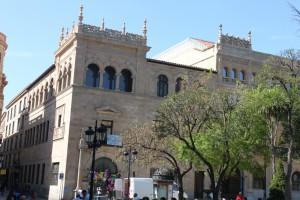Panel sandwich aglomerado LOPEZPANEL - cubierta de museo Salamanca